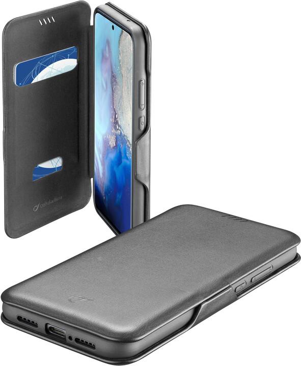 CellularLine pouzdro typu kniha Book Clutch pro Samsung Galaxy S20, černá