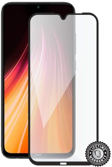 Screenshield ochrana displeje Tempered Glass pro Xiaomi Redmi Note 8T, full cover, černá