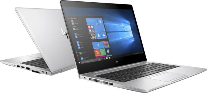 HP EliteBook 735 G6, stříbrná