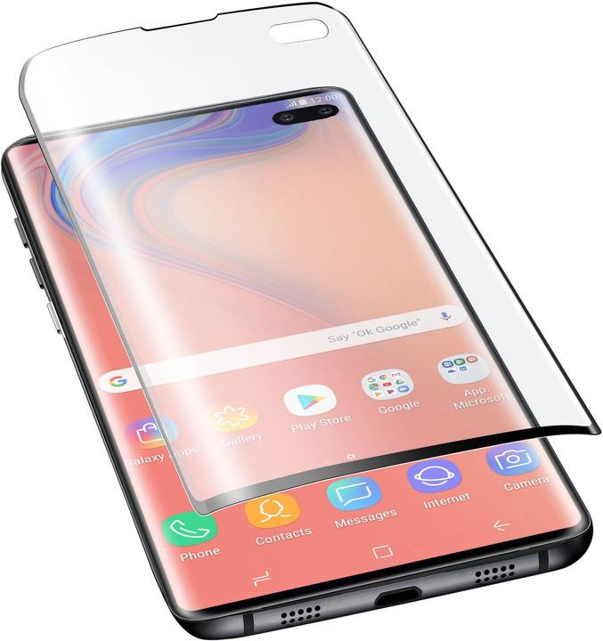 CellularLine fólie na displej pro Samsung G975 Galaxy S10+, lesklá