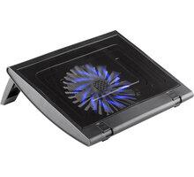 NGS chladící podstavec pro notebook TURBOSTAND, univerzální, USB hub, černá - CPN0012