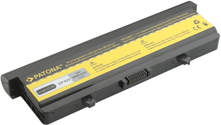 Patona baterie pro Dell, INSPIRON 1525 6600mAh Li-Ion 11,1V
