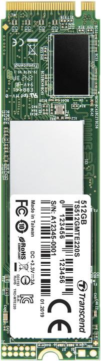 Transcend MTE220S, M.2 - 512GB