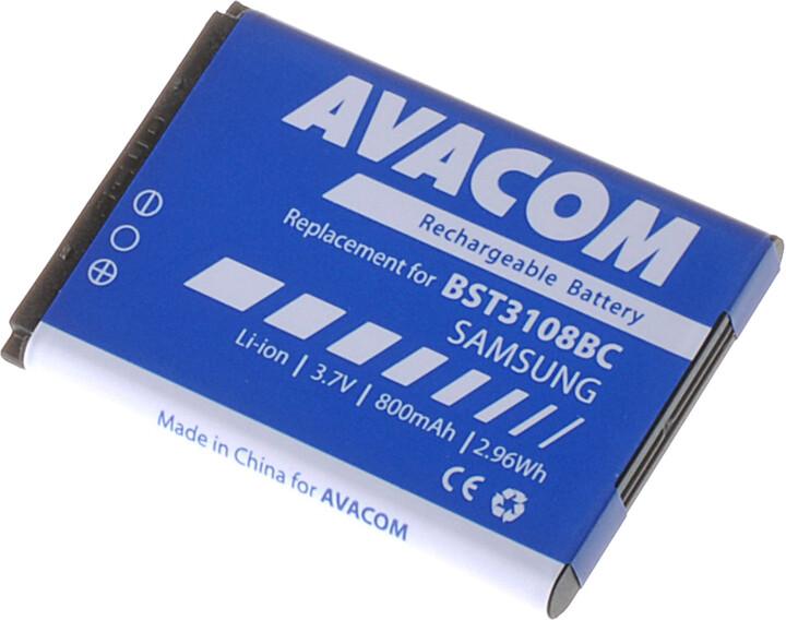 Avacom baterie do mobilu Samsung X200/E250, 800mAh, Li-Ion