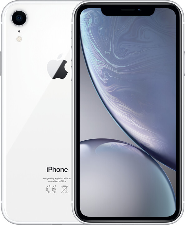 Apple iPhone Xr, 256GB, bílá