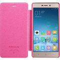 Nillkin Sparkle Leather Case pro Xiaomi Redmi 3 Pro, červená