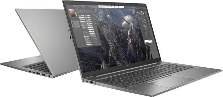 HP ZBook Firefly 15 G7, šedá