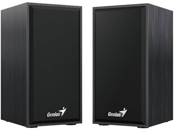 Genius SP-HF180, 2.0, dřevěné, černá