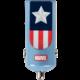 Tribe Marvel Captain America Nabíječka do auta - Modrá