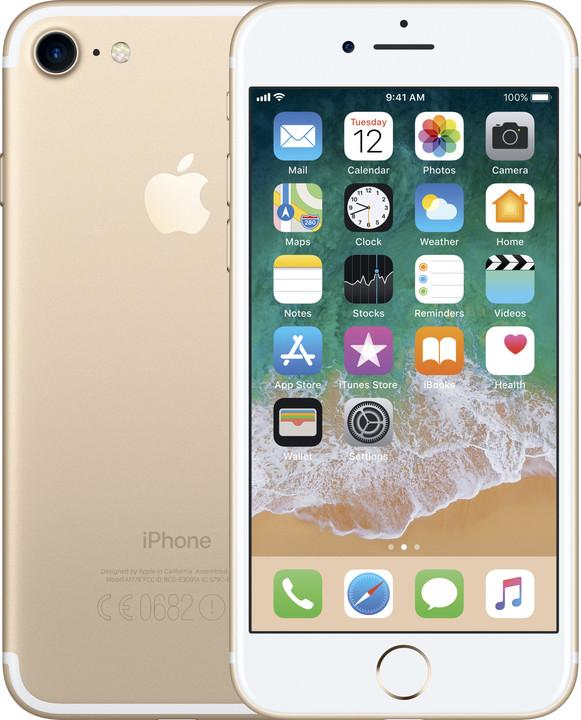 Apple iPhone 7, 32GB, zlatá