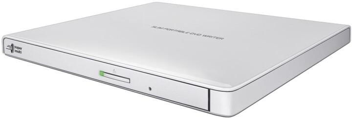 Hitachi GP57EW40, externí, bílá