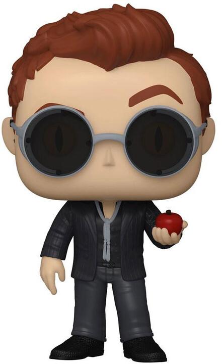 Figurka Funko POP! Good Omens - Crowley with Apple