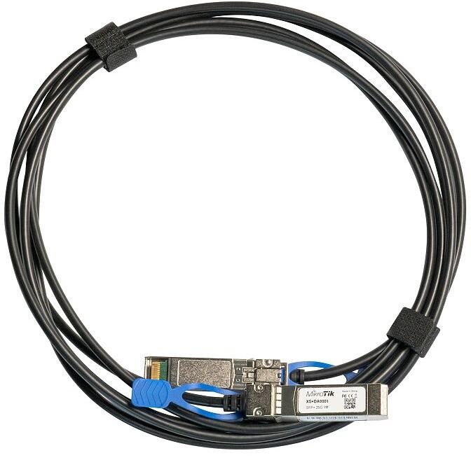 Mikrotik SFP+ kabel DAC, 1G/10/25Gbit, 1m