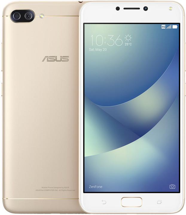 ASUS ZenFone 4 Max ZC554KL-4G039WW, zlatá