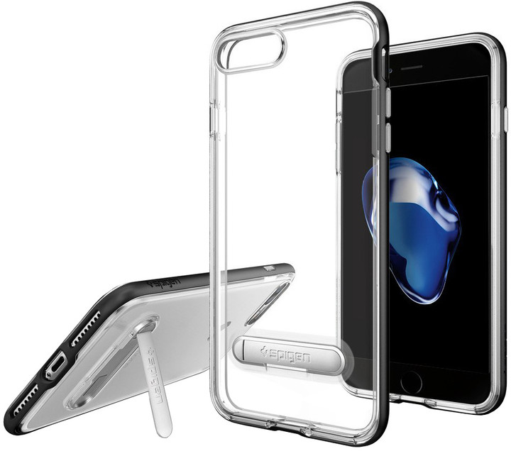Spigen Crystal Hybrid pro iPhone 7 Plus, black