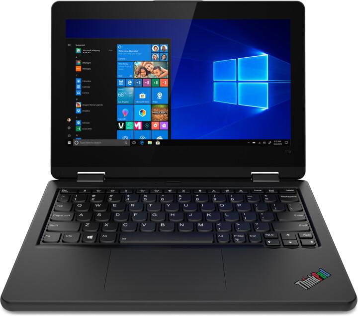 Lenovo ThinkPad 11e Yoga Gen 6, černá