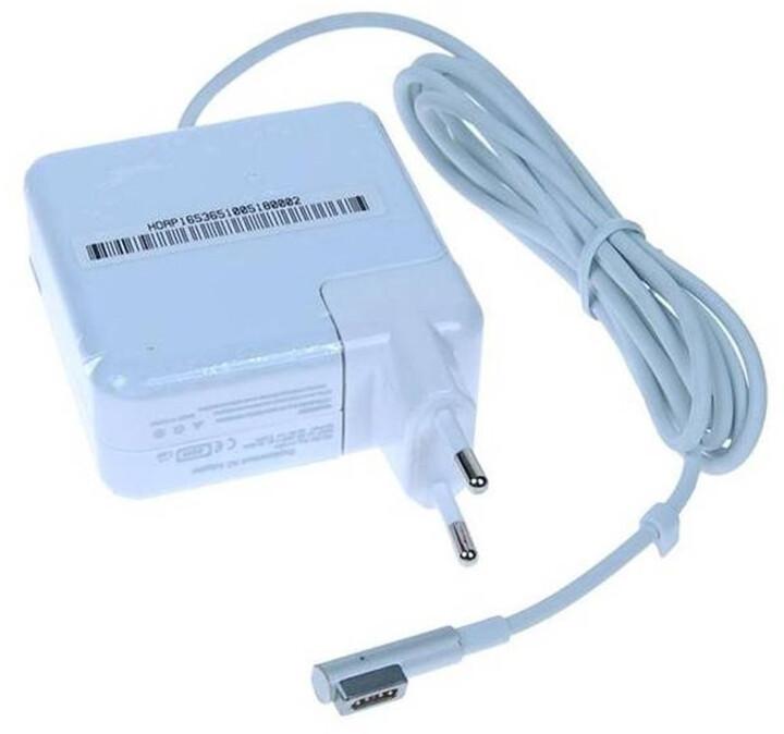 AVACOM nabíjecí adaptér pro notebook Apple, magnetický konektor, 16.5V/3.65A, 60W