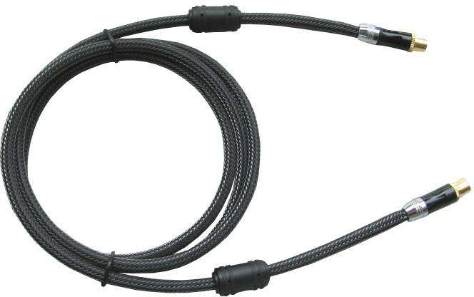 OPTICABLE Profi kabel anténní 75 Ohm, IEC169-2, M-F, 0,75m