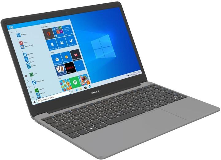 Umax VisionBook 14Wr Plus, šedá