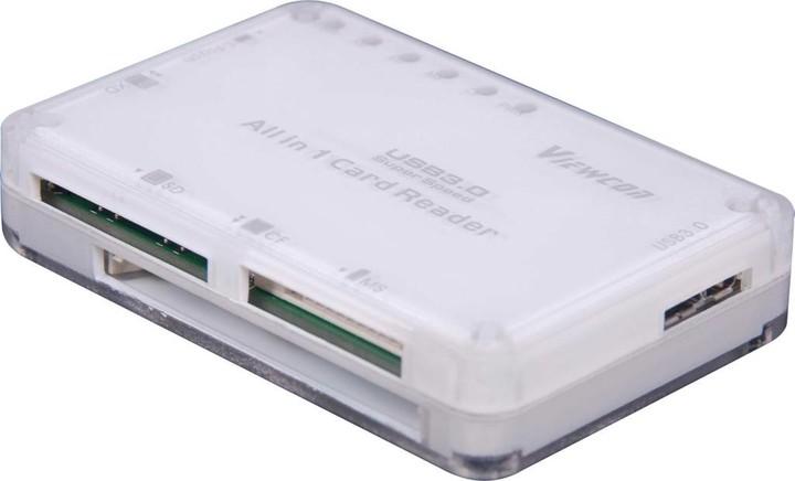PremiumCord čtečka paměťových karet SDHC, USB 3.0