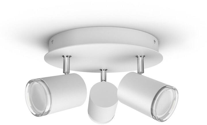 Philips Hue White Ambiance Bodové svítidlo Adore BT 34181/31/P6 bílé s ovladačem