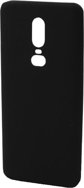 EPICO pružný plastový kryt pro OnePlus 6 SILK MATT, černý