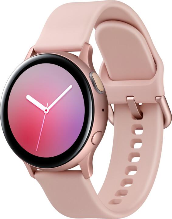 Samsung Galaxy Watch Active 2 40mm, růžovozlatá
