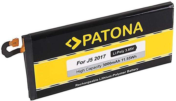 Patona baterie pro mobilní telefon Samsung Galaxy J5 (2017) 3000mAh