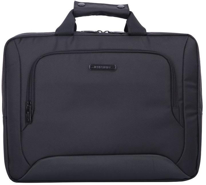 """BESTLIFE Laptop Briefcase + brašna 15,6"""", černá"""