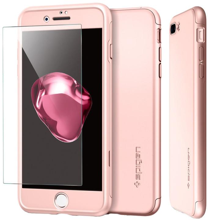 Spigen Air Fit 360 pro iPhone 7 Plus, rose gold