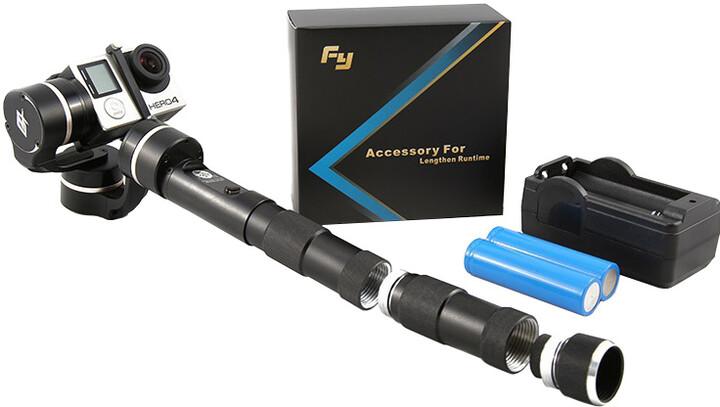 Feiyu Tech bateriový nástavec s bateriemi a nabíječkou pro G4