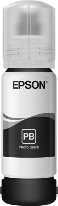 Epson C13T00R140, EcoTank 106 photo black