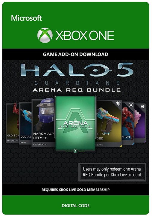 Halo 5 Guardians: Arena REQ Bundle (Xbox ONE) - elektronicky