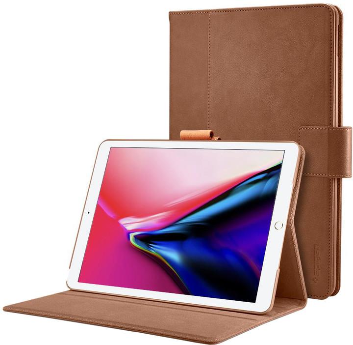 """Spigen Stand Folio case, brown - iPad Pro 12.9"""" 17"""