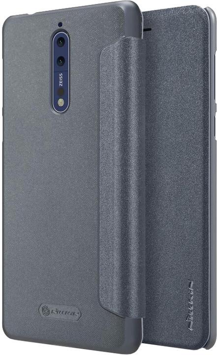 Nillkin Sparkle Folio pouzdro pro Nokia 8 - černé