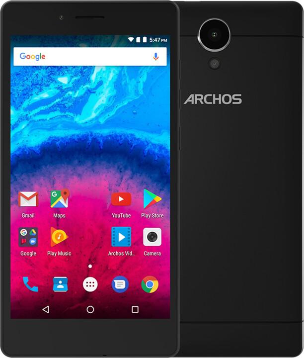 Archos Core 50 Lite - 8GB, černá