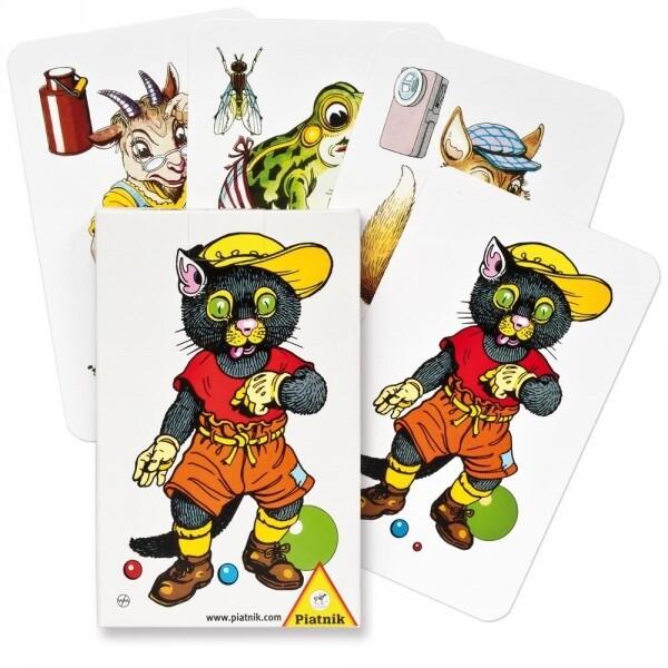 Karetní hra Piatnik Černý Petr - Zvířata (CZ)
