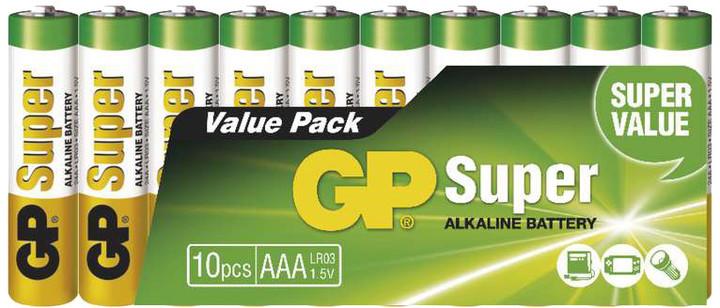 GP, alkalická, AAA 10ks