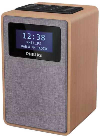 Philips TAR5005, šedá/dřevo