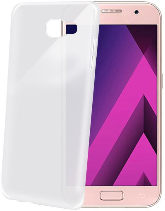CELLY Frost Ultra tenké TPU pouzdro pro Samsung Galaxy A5 (2017), 0,29 mm, bílé