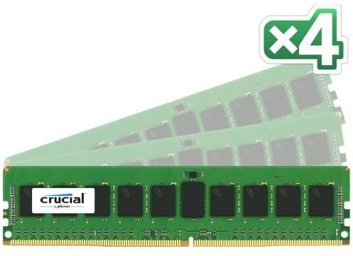 Crucial 32GB (4x8GB) DDR4 2133, Dual Ranked