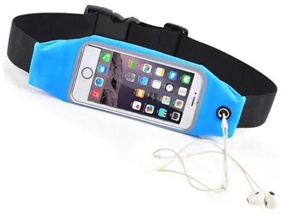"Forever pouzdro typu ledvinka pro smartphone 6.2"", modrá"