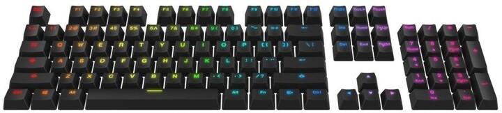 SPC Gear vyměnitelné klávesy KC104, Kailh, 104 kláves, černé, US