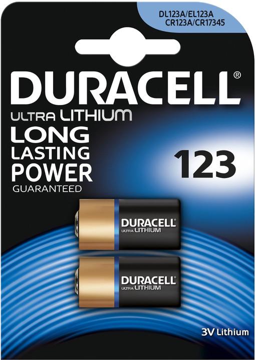 Duracell Ultra DL123A B2