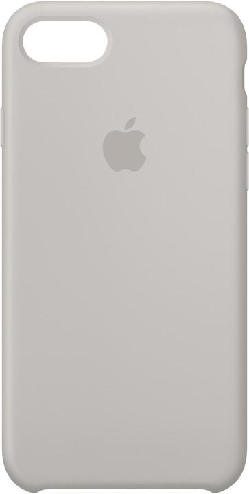 Apple Silikonový kryt na iPhone 7/8 – kamenně šedý