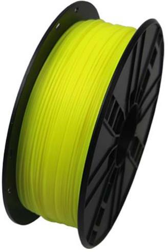 Gembird tisková struna (filament), HIPS, 1,75mm, 1kg, žlutá