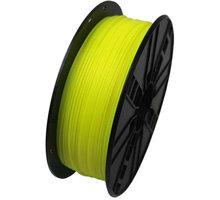 Gembird tisková struna (filament), HIPS, 1,75mm, 1kg, žlutá - 3DP-HIPS1.75-01-Y