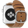 MAX kožený řemínek MAS52 pro Apple Watch, 42/44mm, hnědá
