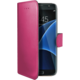 CELLY Wally Pouzdro typu kniha pro Samsung Galaxy S7 Edge, PU kůže, fuchsiové