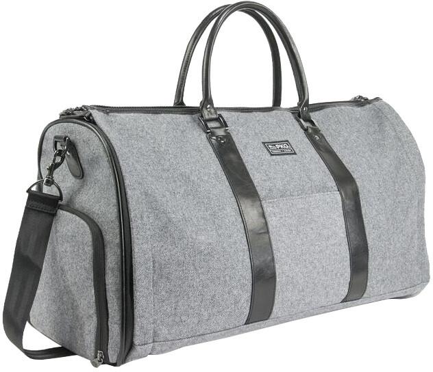 """PKG Rosedale cestovní taška na oblek a 16"""" notebook, šedá"""